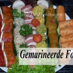 Gemarineerde fondue