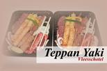 Vlees en vis Teppan Yaki